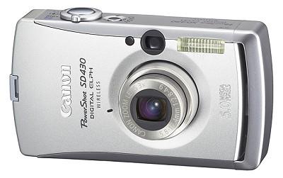 Powershot SD430 Wireless Digital ELPH Camera
