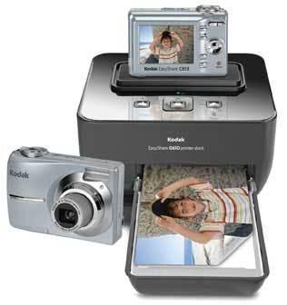 EasyShare C813 Digital Camera and G610 Printer Dock Bundle