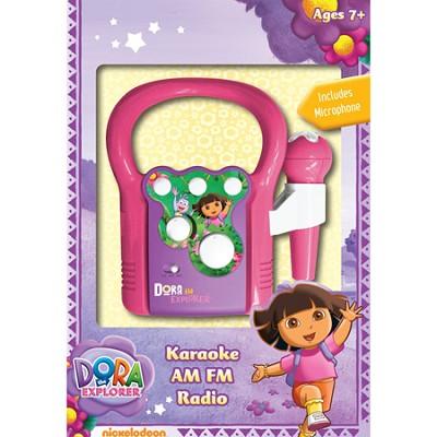 Karaoke System 29067 Dora Karaoke Radio, Pink