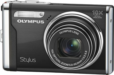 Stylus 9000 12MP 2.7` LCD Digital Camera (Black) - REFURBISHED
