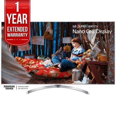 SUPER UHD 60` 4K HDR Smart LED TV 2017 Model + 1 Year Extended Warranty