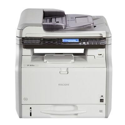 SP 3610SF Black and White Multifunction Printer - 407305