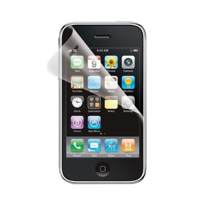 Anti-Glare Screen Protector for iPhone 3GS/3G (2 pack)
