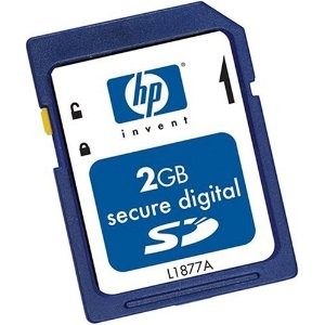 2GB Secure Digital (SD) Card
