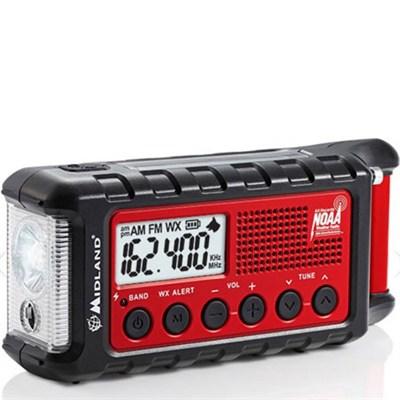E+Ready Emergency Radio AM/FM/WTHR  Alert (ER210)