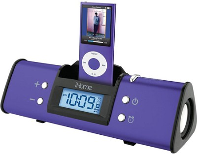 iH16 Portable Speaker System for iPod (Lilac)
