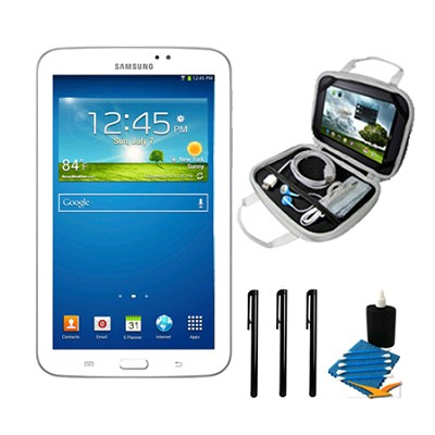 Galaxy Tab 3 (7-Inch, White) Essentials Bundle