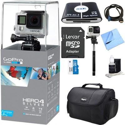 HERO 4 Silver Action Camera Ultimate Kit