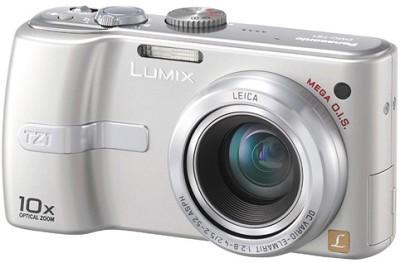 DMC-TZ1S Lumix 5 mega-pixel Digital Camera with 10x Optical Zoom (Silver)