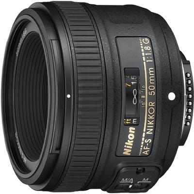 50mm f/1.8G AF-S DX NIKKOR Lens for Nikon Digital SLR Cameras