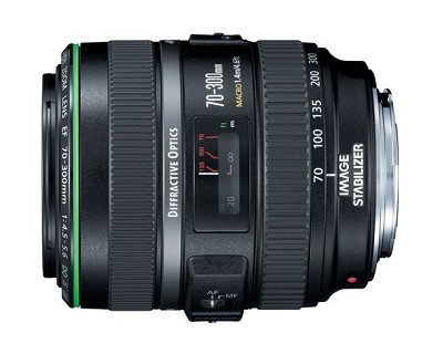 EF 70-300mm F/4.5-5.6 DO IS USM Lens CANON AUTHORIZED USA DEALER WARRANTY INCLUD
