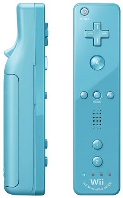 Wii Remote Plus { Blue - Newest Model }