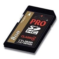 8GB Pro 150X { Class 6 }  High-Speed SDHC memory card