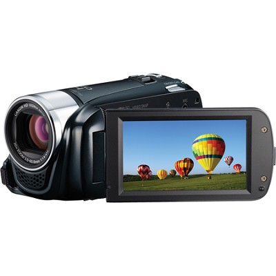 VIXIA HF R20 8GB Flash Dual SD 1080p HD Black Camcorder w/ 3.0` Touchscreen