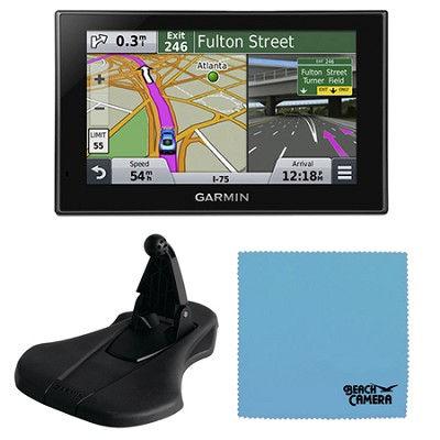 nuvi 2689LMT Advanced Series 6` GPS Navigation System Friction Mount Bundle