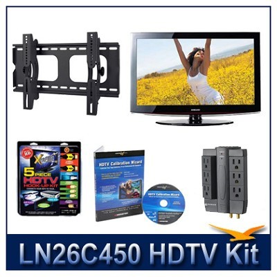 LN26C450 - HDTV + Hook-up Kit + Power Protection + Calibration + Tilt Mount