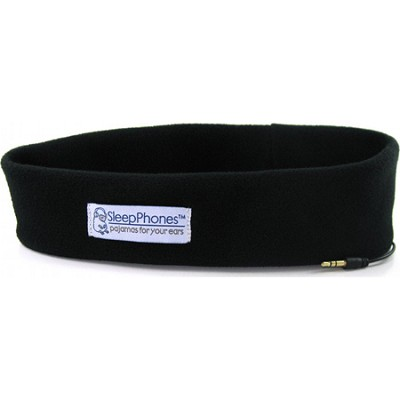 SleepPhones Midnight Black One Size Fits Most