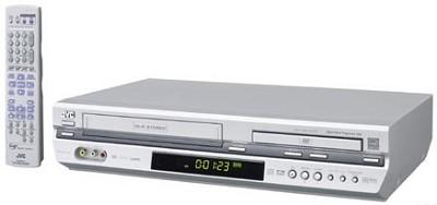 HR-XVC29S DVD + VCR Combo Unit (Silver)