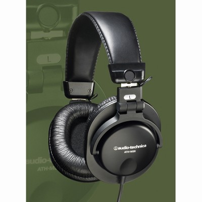 ATH-M35 - Closed-Back Dynamic Stereo Monitor Headphones Factory Refurbished