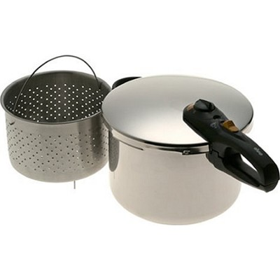 Duo 8 Quart Stainless Steel Pressure Cooker