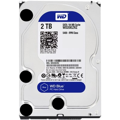 20PK 2TB  BLUE SATA 5400 RPM 64MB 6GB/S 3.5IN PC HARD DRIVE