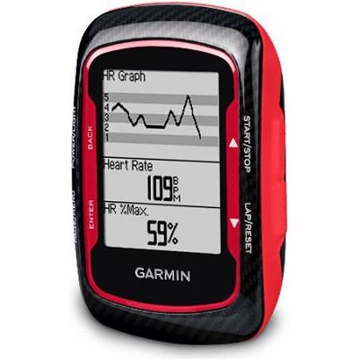 Edge 500 North America Bike GPS Bundle - Red