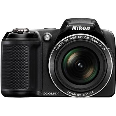 COOLPIX L810 16.1 MP 3.0-inch LCD Digital Camera - Black - Factory Refurbished
