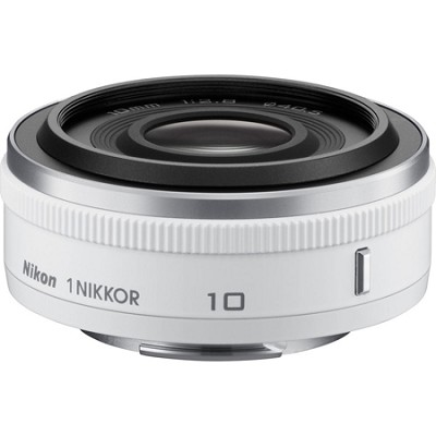 1 NIKKOR 10mm f/2.8 Lens White - Factory Refurbished
