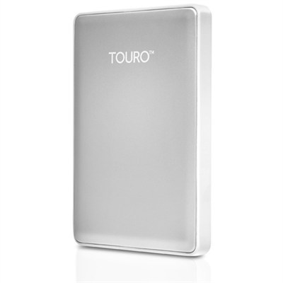 Touro S 1TB 7200RPM High-Performance Portable Drive Silver - Factory Refurbished