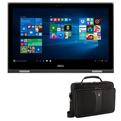 Intel Core i7-6500U 2.5GHz 15.6` 2-in-1 Laptop Computer w/ Wenger Laptop Case
