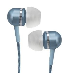 CVEM79BLU Jammerz Platinum High-Performance Isolation Stereo Earphones (Blue)