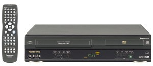 PV-D4743 Double Feature DVD/VCR Combination Deck (Silver)