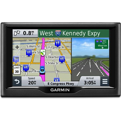 nuvi 58 5.0`-inch Essential Series 2015 GPS Navigation System (US & Canada)