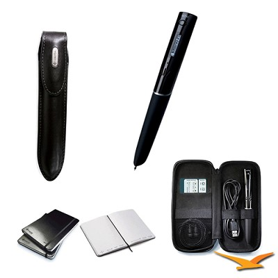 4GB Echo Smartpen with Journal, Deluxe Carrying Case and Premium Case