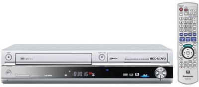DMR-EH75VS Progressive DVD/VCR Combo Recorder w/ 80GB Hard Drive, HDMI Up-conv.