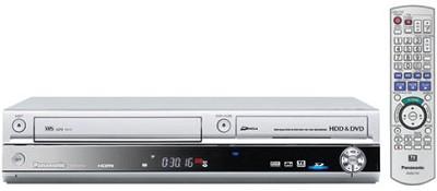 DMR-EH75VS Progressive DVD/VCR Combo Recorder w/ 80GB Hard Drive, HDMI Up-conv.