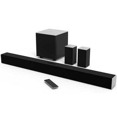 38` 5.1ch Bluetooth Sound Bar w/ Wireless Sub & Speakers