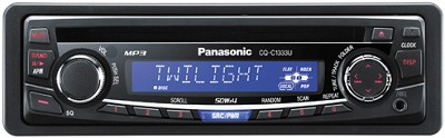 CQ-C1333U In-Dash Receiver w/ CD player and MP3 playback