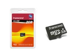 2 GB Micro SD Memory Card { TS2GUSDC }