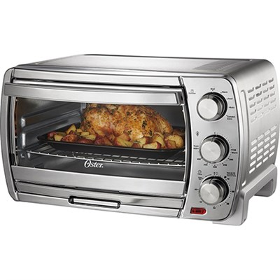 Extra Large Convection Toaster Oven in Brushed Chrome - TSSTTVSK01