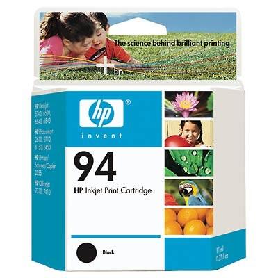 94 Black Inkjet Print Cartridge - 3 Pack ***Bonus HP 96 and HP 100 Free***