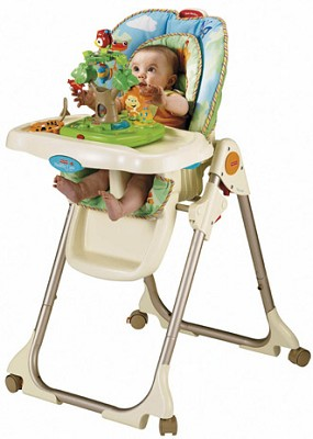 Rainforest 'Healthy Care' High Chair