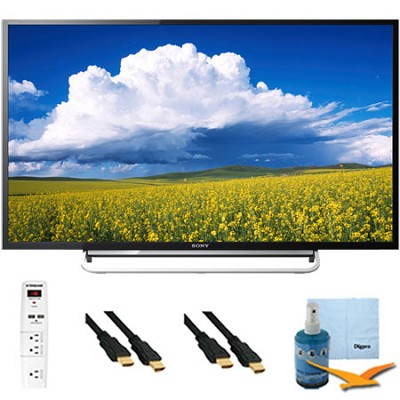 KDL48W600B - 48` LED HD 1080p Smart TV 60Hz Plus Hook-Up Bundle