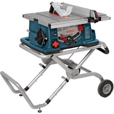 10` Worksite Table Saw with Gravity-Rise Wheeled Stand