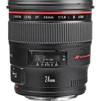 EF 24mm f/1.4L II USM Lens w/ Canon USA Warranty