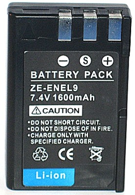 EN-EL9 / EN-EL9A 1600mAh Lithium Battery for Nikon D3000, D5000, D40, D40X, D60