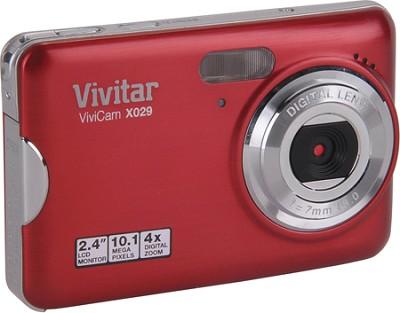 ViviCam X029 10.1 MP HD Digital Camera (Strawberry)