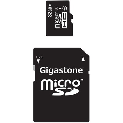 32GB Class 10 U1 MicroSD Memory card with SD Adapter