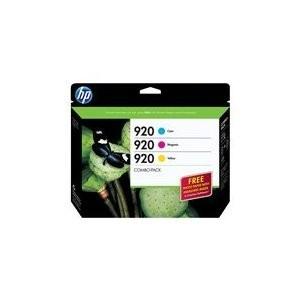 HP 920 Combo-pack Ink Cartridge - Cyan, Magenta, Yellow + Photo Paper