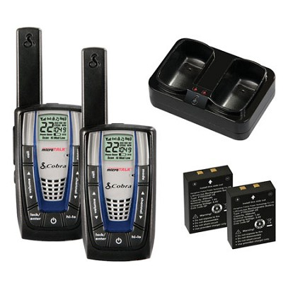 CXR825 Walkie-Talkie microTalk 22-Channel Two-Way Radio (Pair)